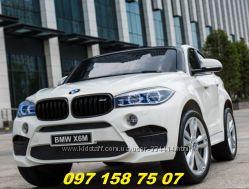 Детский двухместный электромобиль BMW X6 M-JJ2168