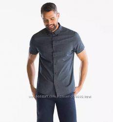 Оригинальная мужская рубашка angelo litrico, p. s, m