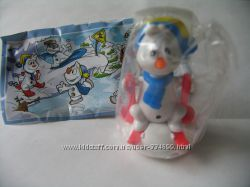 Киндер макси Снеговики спортсмены