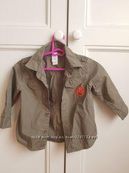 Рубашка детская хаки