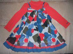 Красивое платье  CATIMINI 3-4года