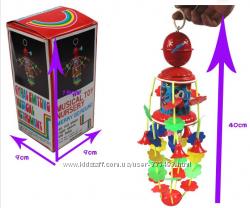 Карусель, музыкальная механическая заводная игрушка.