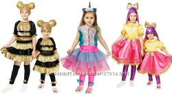Продаж костюм лялька кукла лол бджілка пчелка єдинорожка, леді голд lol