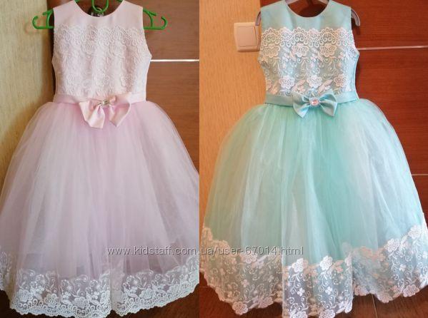 Нарядне випускне плаття на 104-130см, нарядное платье - Позняки