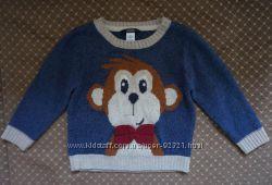 Очень красивый и оригинальный свитер George на 3-4 года