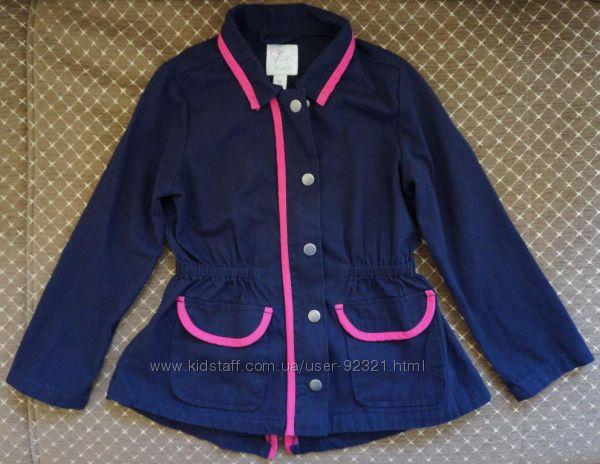 Удлиненная хлопковая курточка Children&acutes place США в размере S 56