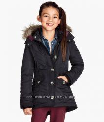 Теплая куртка- парка H&M