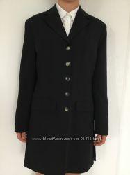 Кардиган блайзер пиджак удлинённый  чёрный