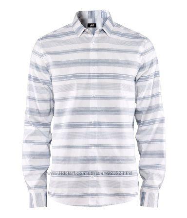 Новая рубашка H&M из хлопка