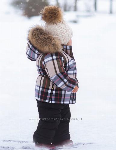 PILGUNI 2020 MUST HAVE Костюм зимний для девочки с  опушкой енота