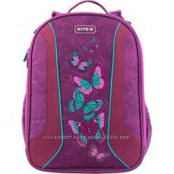 Рюкзак каркасный школьный Kite Butterflies K19-703M-1