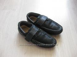 Школьные кожаные туфли B&G для мальчика