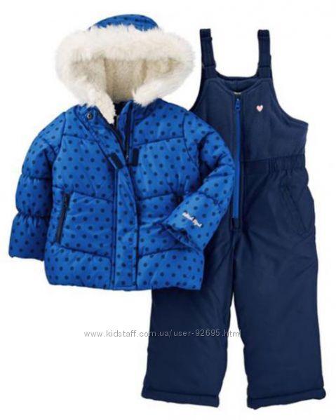 Зимний комбинезон для девочки OshKosh B&acuteGosh Osh Kosh Baby Girls Ski J