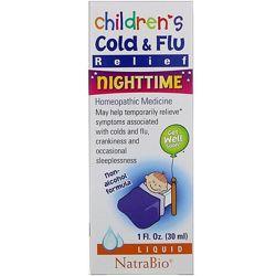 Ночное средство против насморка и простуды у детей с 4х месяцев