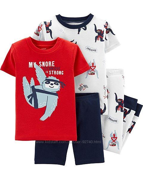 Пижама carters картерс, хлопок 3T на 2-3 года