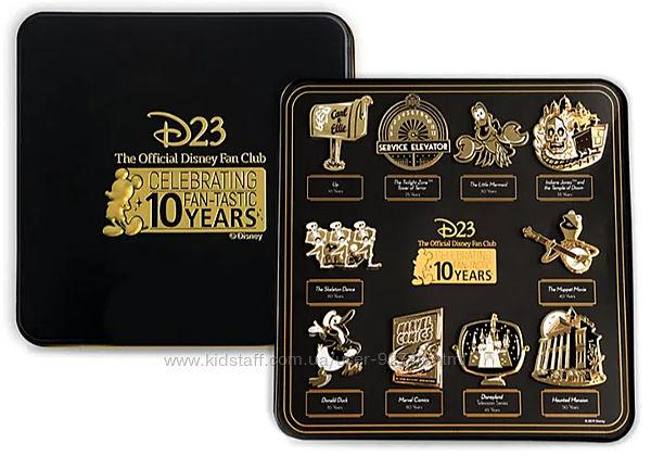 Подарок, оригинальный Коллекционный набор Disney D23 Gold Membership