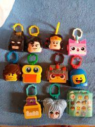 Киндерсюрпризы  стикезы и игрушки из Макдональдса
