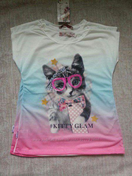 Модная футболка для девочку