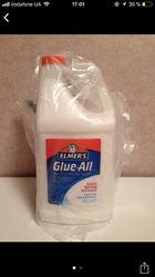 Белый Elmers glue all галлон