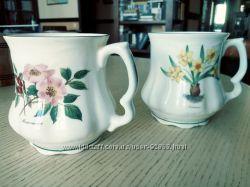 Чашки чайные. Китайский фарфор. Серия Ботаника