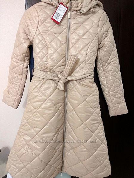 Новое стёганое пальто