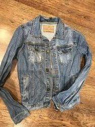 Джинсовая куртка Zara рост 152