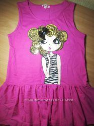 Модная туника на девочку 11-12 лет