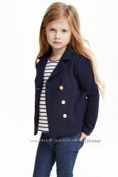 Пиджак школьный вязаный на девочку фирмы H&M размер 134 140
