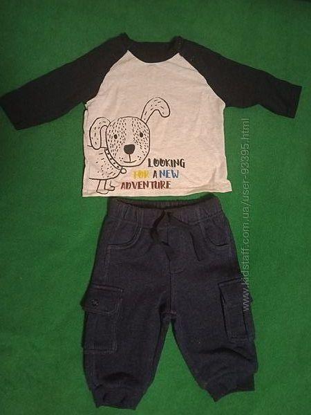 Комплект Topomini 2 реглана и штанишки