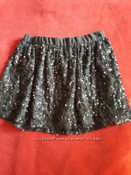 Симпатичная нарядная юбка на рост 122-134 см