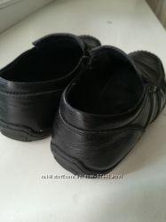 Кожаные туфельки для школьника