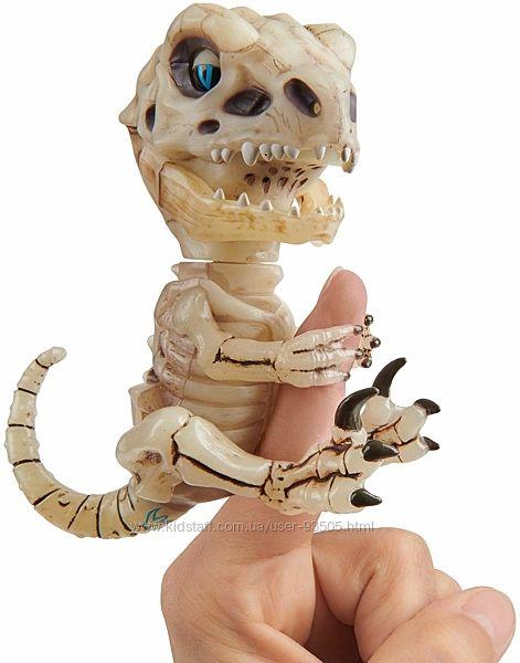 Gloom Untamed Skeleton Raptor Dinosaur Интерактивный динозавр