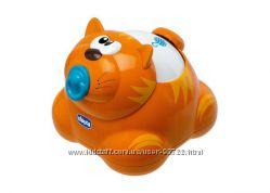 Яркий котенок, каталка, погремушка Chicco Tom Push &acuteN Go