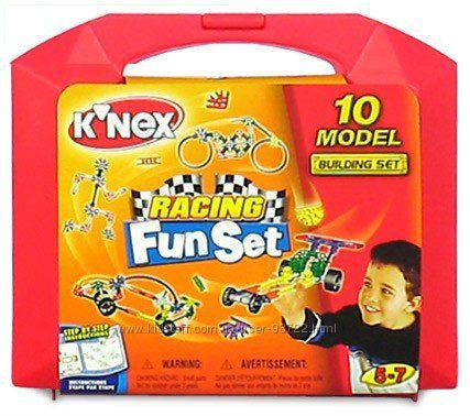 Очень интересный конструктор Knex 10 моделей в кейсе