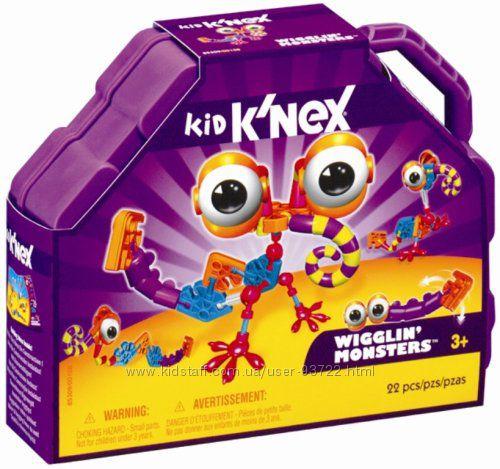 Пять интересных конструктора для малышей от Kid KNex США