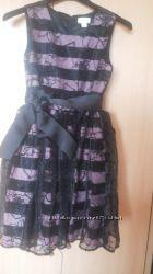 Шикарное платье на выпускной 5кл Прокат.