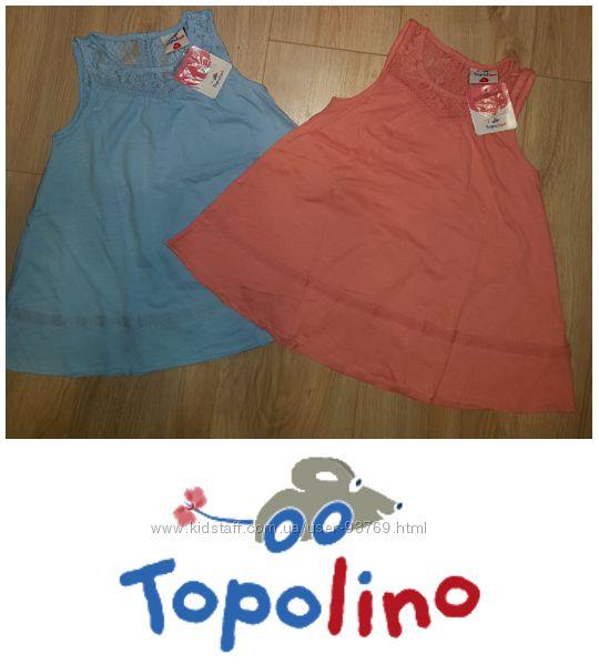 Распродажа новые туники-сарафаны TOPOLINO 104, 116