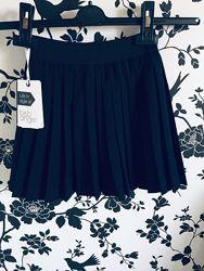 Школьная юбка Baby Angel арт 966 синяя , черная