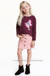 H&M Красивые юбочки в наличии на 6-8 и 9-10 лет