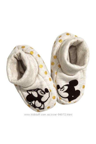 H&M Пинеточки серии Disney Mickey Mouse размер 18-19 в наличии