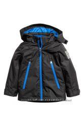 H&M Куртки 3-в-1 на мальчиков 4-5 лет в наличии