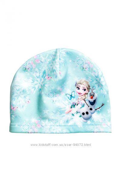 H&M Флисовая шапочка серии Холодное сердце размер 92-104 в наличии