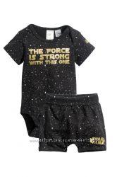 H&M Очень крутой комплект Star Wars для маленького модника размер 56