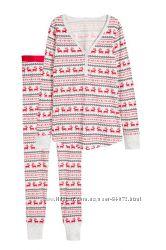 H&M Очень удобные домашние костюмы и пижамки 2в1 размер XS в наличии
