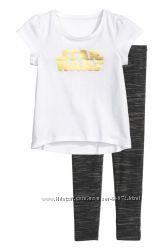 H&M Пижамка STAR WARS для девочки 2-4 лет в наличии