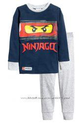 H&M Пижамка серии NINJAGO для 3-4 лет в наличии
