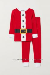 H&M Хлопковые пижамки для 1, 5-6 лет в наличии