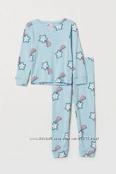 H&M Пижамка для 2-4  и 6-8 лет в наличии