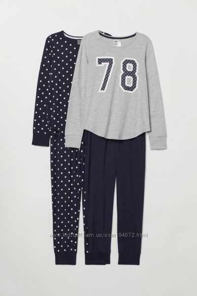 H&M Пижамки для 10-12 лет в наличии