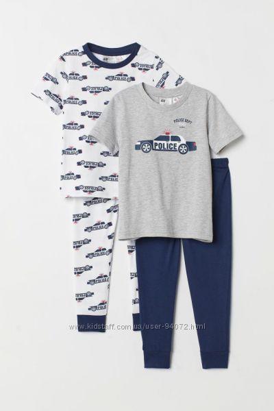 H&M Пижамки для мальчиков 8-10 лет в наличии